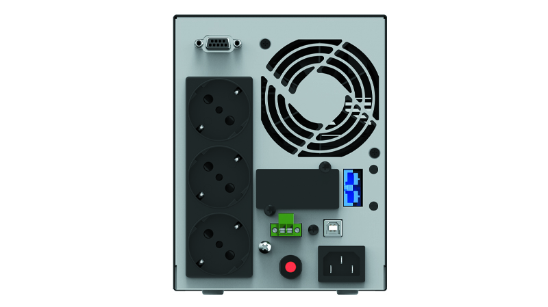 UPS PHASAK LCD On-Line 1000 VA
