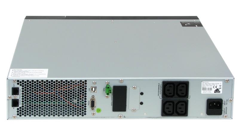 UPS PHASAK PRO-RACK LCD On-Line 1500 VA