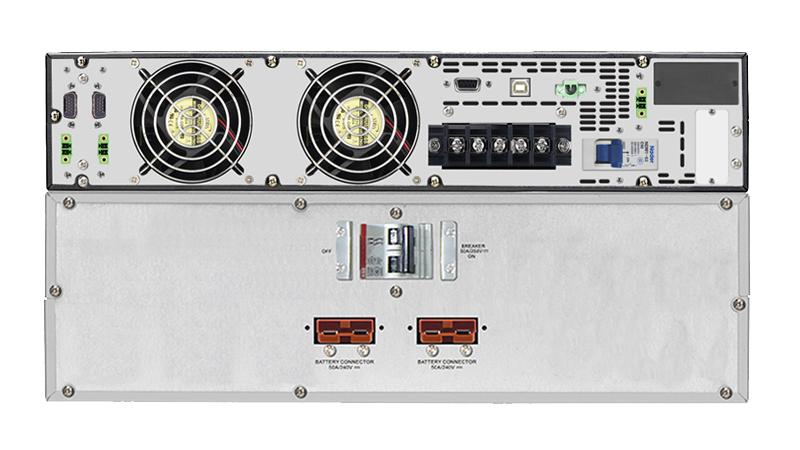 UPS PHASAK PRO-RACK LCD On-Line 10.000 VA